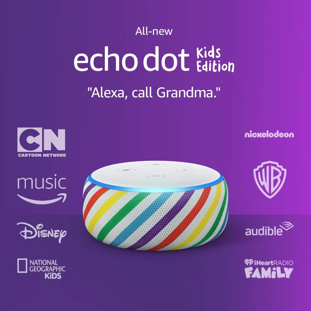 Echo-Dot-Kids-Edition-an-Echo-designed-for-kids-with-parental-controls-and-2-year-worry-free-guarantee-Rainbow