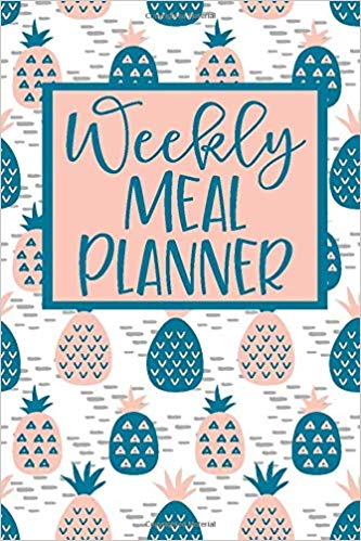 Weekly-Meal-Planner-52-Weeks-of-Menu-Planning-Pages-with-Weekly-Grocery-Shopping-List--Pineapple-Pattern